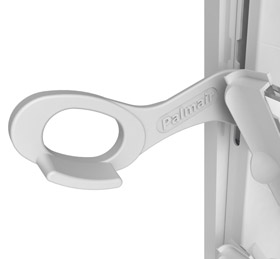 Palmair Louvre Standard Handle White